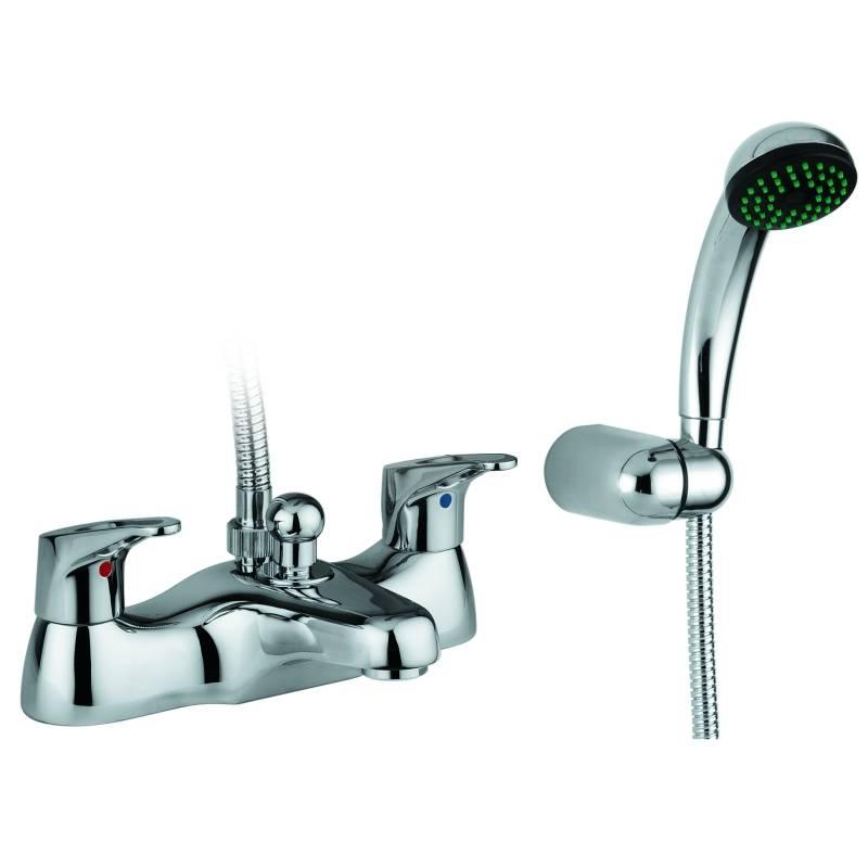veracity deck mounted bath shower mixer ab1217 abode shop
