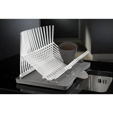 View Alternative product Black & Blum Plate Rack in White