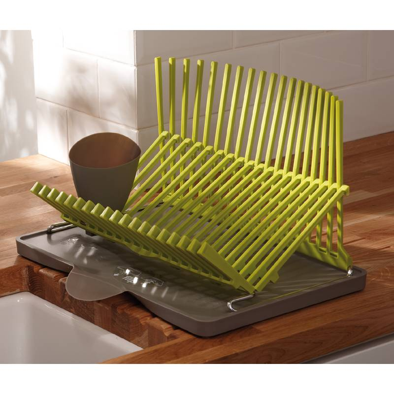black blum plate rack in lime green ax2502 abode shop. Black Bedroom Furniture Sets. Home Design Ideas