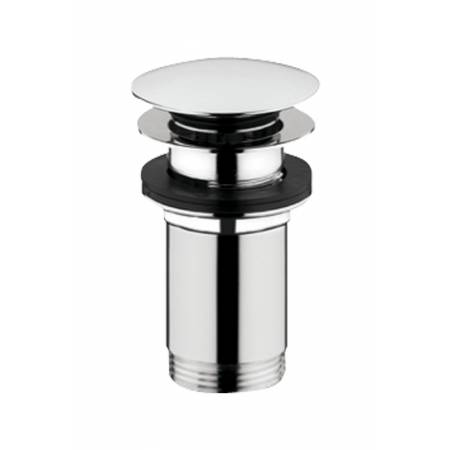 Bathroom Basin Clicker Waste (Slotted) in Chrome