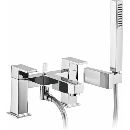 View Alternative product Cento Deck Mounted Bath Shower Mixer in Chrome