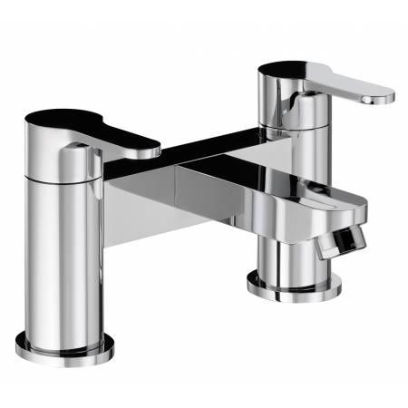Debut Deck Mounted Bath Filler in Chrome