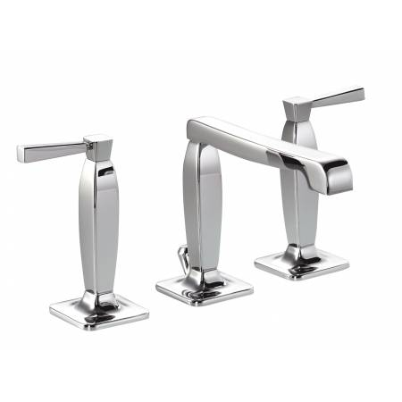 Decadence 3 Part Basin Mixer in Chrome