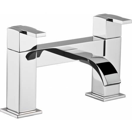 Iso Deck Mounted Bath Filler in Chrome