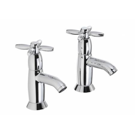 View Alternative product Opulence Basin Pillar Taps in Chrome