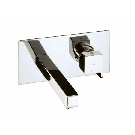 Rapport Wall Mounted Washbasin Mixer in Chrome