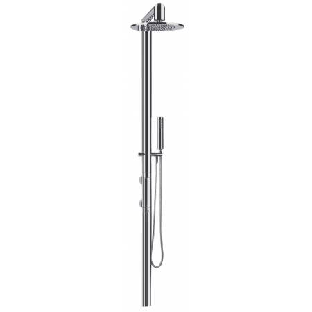 Wall Mounted Oval Thermostatic Shower Post with Showerhead