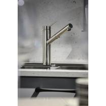 Pluro Single Lever Pull Out Spray in Chrome