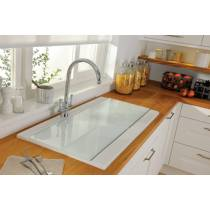 Tydal White Glass Cover